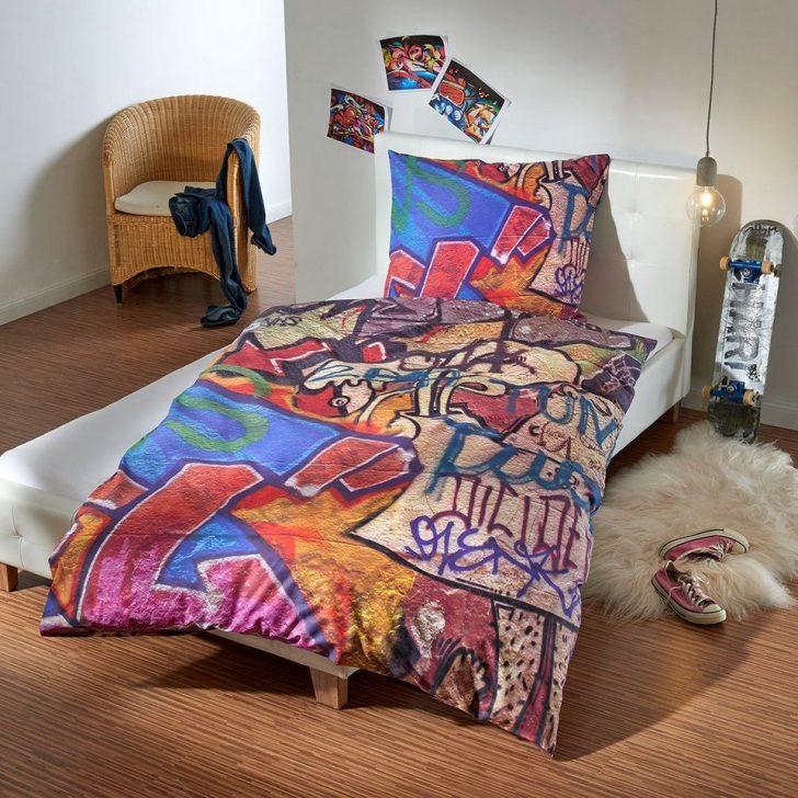 Medium Size of Bettwsche Graffiti Wall Bettwäsche Sprüche Betten Für Teenager Wohnzimmer Bettwäsche Teenager