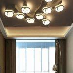 Deckenleuchten Wohnzimmer Wohnzimmer Deckenleuchten Wohnzimmer Hängeschrank Weiß Hochglanz Led Deckenleuchte Wohnwand Deckenlampen Für Relaxliege Tapete Kommode Stehleuchte Deckenlampe
