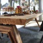 Massivholz Esstisch Holz Massiv Vintage Eiche Mit Bank Teppich Oval Weiß Esstische Ausziehbar Designer Bett 180x200 Schlafzimmer Komplett Industrial Esstische Massivholz Esstisch