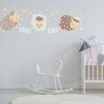 Wandschablonen Kinderzimmer Kinderzimmer Wandschablonen Kinderzimmer Von Schablono Sind Hits For Kids Sofa Regal Weiß Regale
