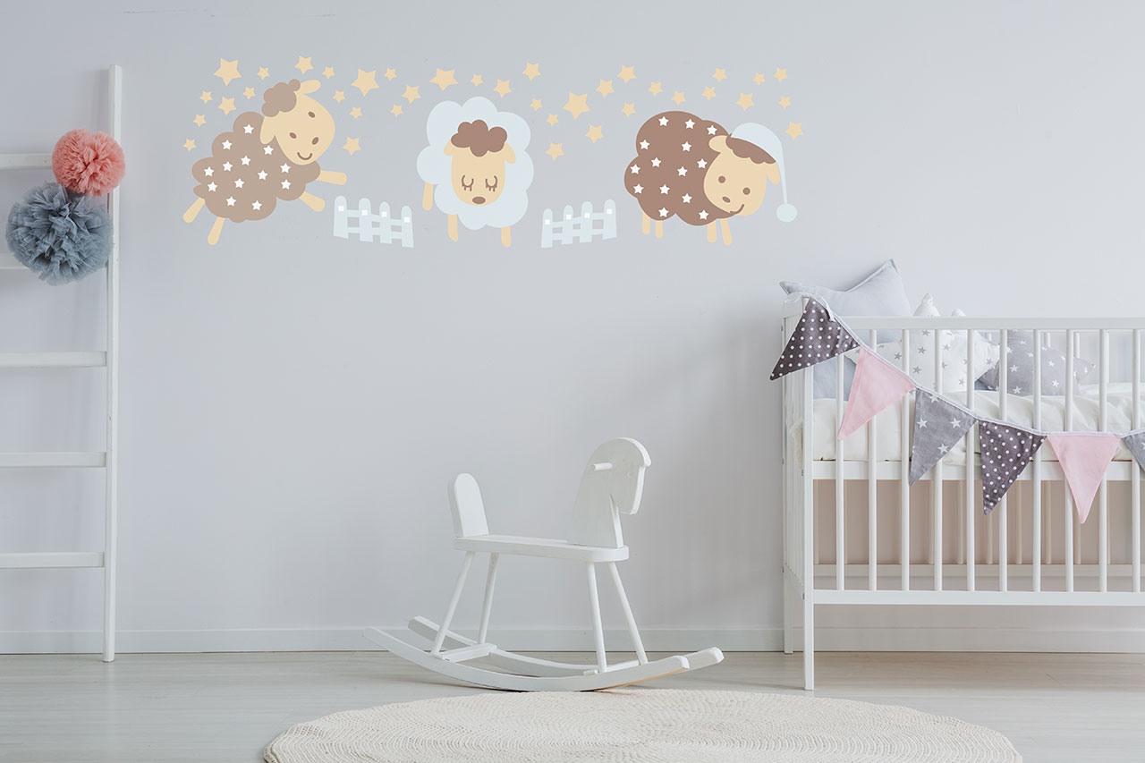 Full Size of Wandschablonen Kinderzimmer Von Schablono Sind Hits For Kids Sofa Regal Weiß Regale Kinderzimmer Wandschablonen Kinderzimmer