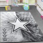 Kinderteppiche Modern Kinderzimmer Stern Grau Teppichmax Regal Regale Sofa Wohnzimmer Teppiche Weiß Kinderzimmer Kinderzimmer Teppiche