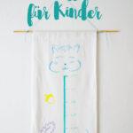 Messlatte Kinderzimmer Diy Messatte Fr Aus Stoff Regal Regale Weiß Sofa Kinderzimmer Messlatte Kinderzimmer