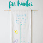 Messlatte Kinderzimmer Kinderzimmer Messlatte Kinderzimmer Diy Messatte Fr Aus Stoff Regal Regale Weiß Sofa