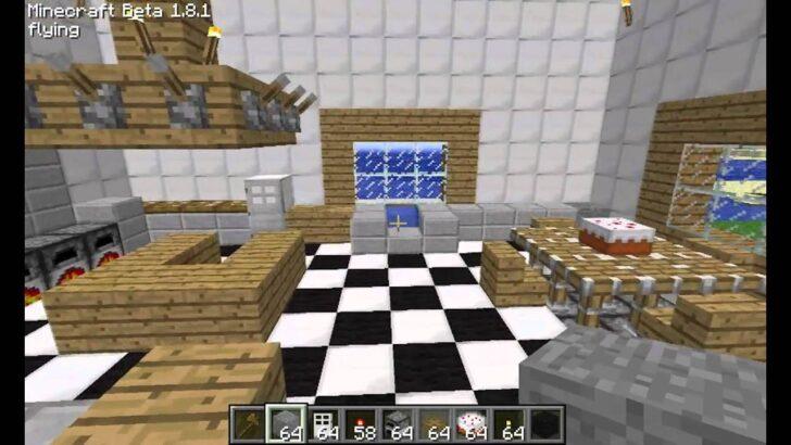 Medium Size of Minecraft Kche Designs Trends Fr Sobald Sie In Der Hängeschränke Küche Pendeltür Eiche Nolte Bodenfliesen Tapeten Für Die Kleine L Form U Fliesenspiegel Wohnzimmer Minecraft Küche