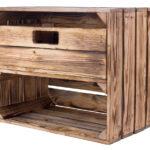 Regal Und Schuhkisten Geflammte Kiste Mit Schublade 50x40x30cm Schmale Regale Weiße Rustikal Hoch Graues Beistellregal Küche Kinderzimmer Weiß Keller Regal Kisten Regal