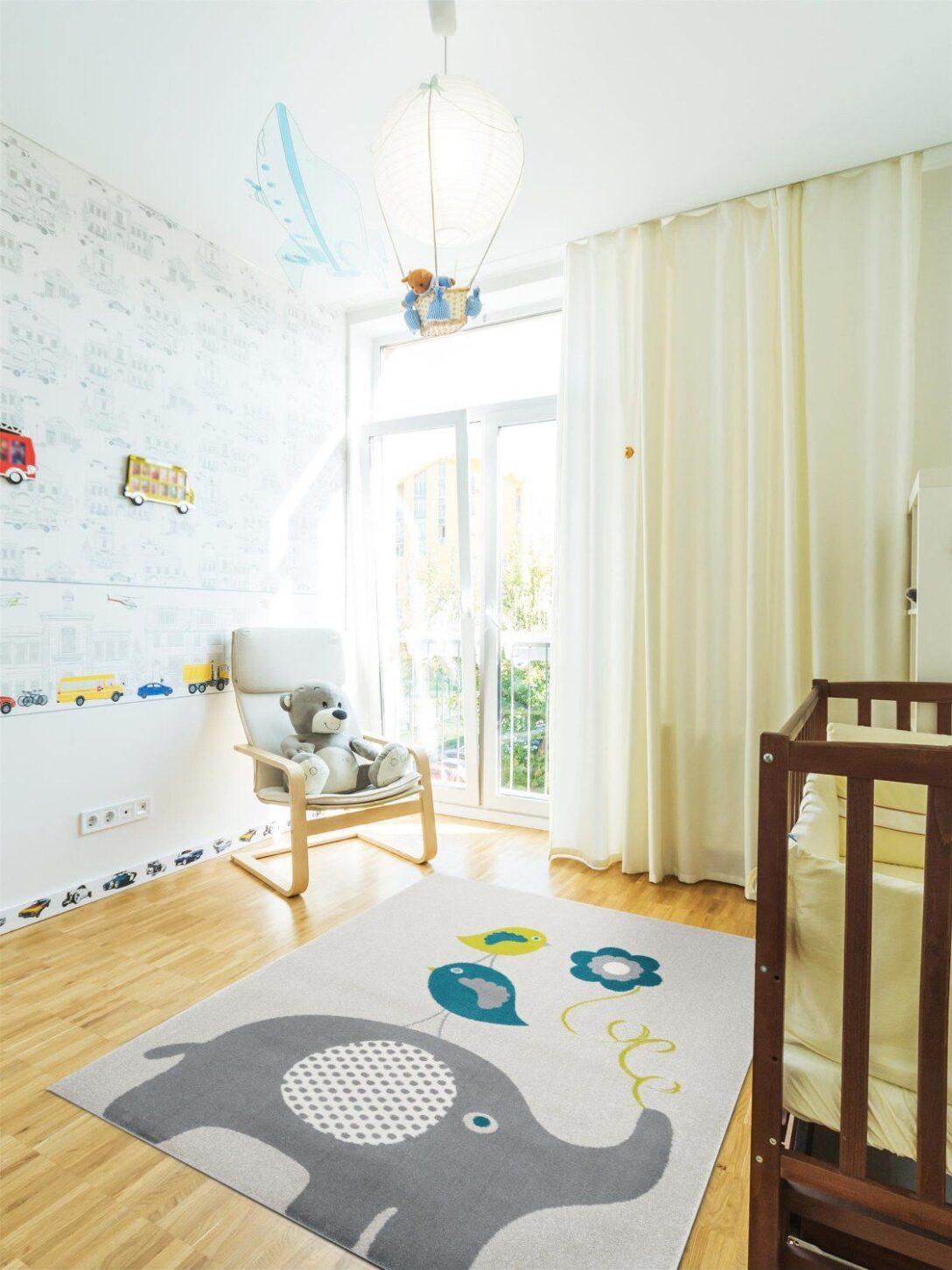 Large Size of Teppiche Kinderzimmer Benuta Kinderteppich Birdies And Elephant Wohnzimmer Regal Weiß Sofa Regale Kinderzimmer Teppiche Kinderzimmer