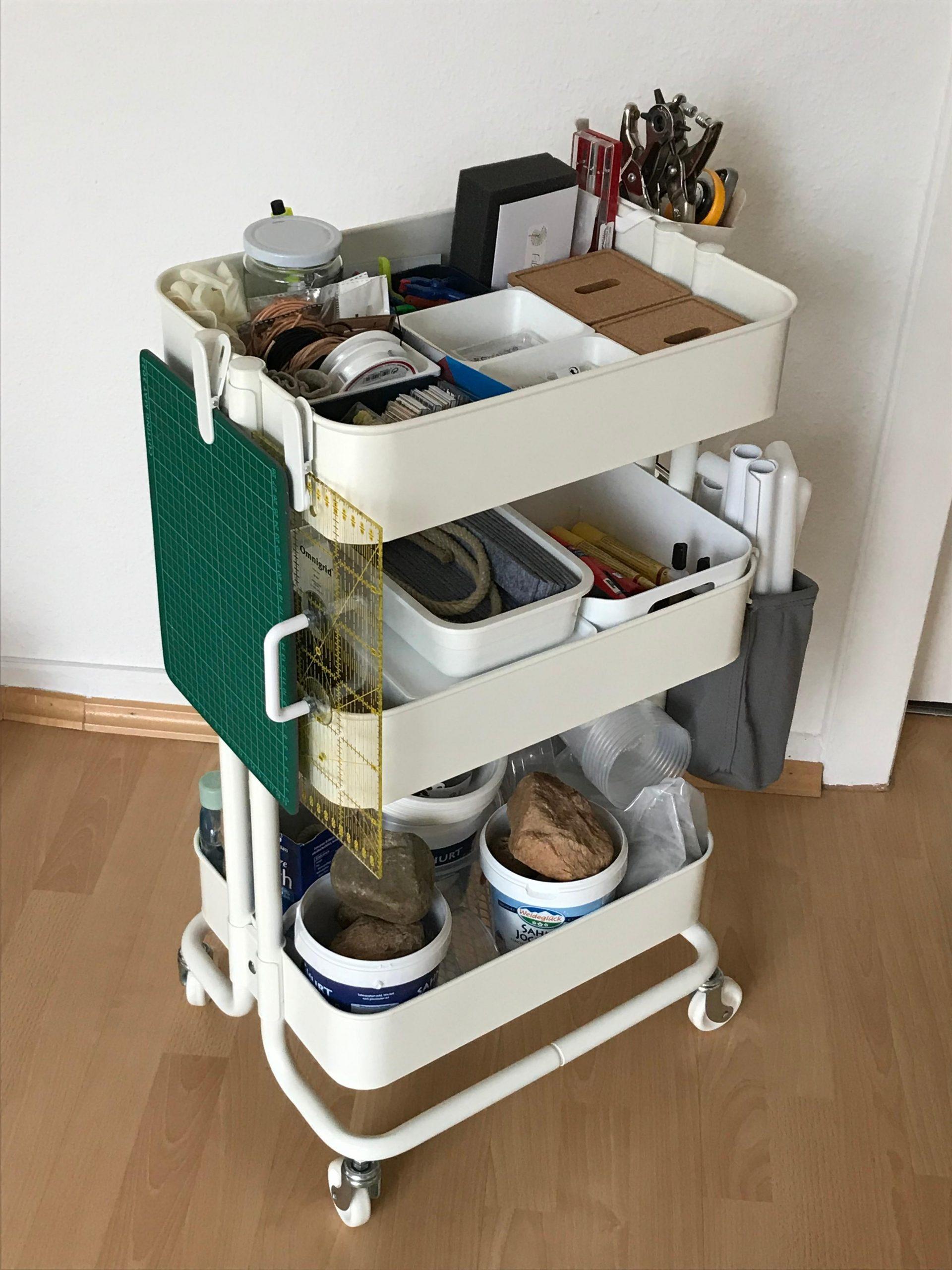 Full Size of Endlich Habe Ich Utensilien Zum Basteln Geordne Ikea Küche Kosten Betten Bei Rollwagen Bad Miniküche Sofa Mit Schlaffunktion 160x200 Kaufen Modulküche Wohnzimmer Ikea Rollwagen