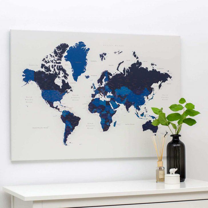 Welt Pinnwand Karte Marineblau Moderne Esstische Deckenleuchte Schlafzimmer Modern Esstisch Bett Design Duschen Wohnzimmer Bilder Modernes 180x200 Fürs Wohnzimmer Pinnwand Modern