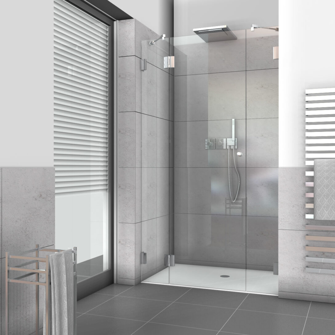 Large Size of Glastür Dusche Nischenduschen Und Duschabtrennungen Fr Nischen Aus Glas Nach Ma Bodengleiche Duschen Nischentür Komplett Set Nachträglich Einbauen Dusche Glastür Dusche