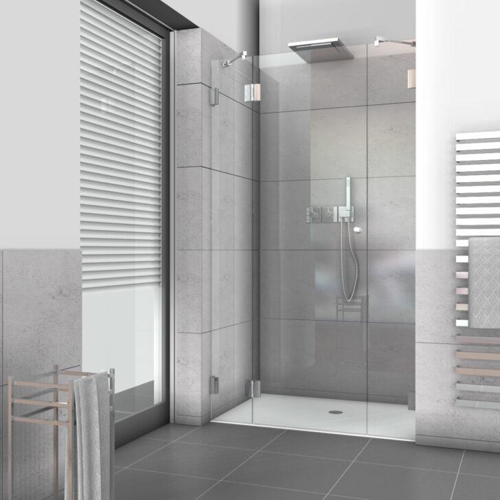 Medium Size of Glastür Dusche Nischenduschen Und Duschabtrennungen Fr Nischen Aus Glas Nach Ma Bodengleiche Duschen Nischentür Komplett Set Nachträglich Einbauen Dusche Glastür Dusche
