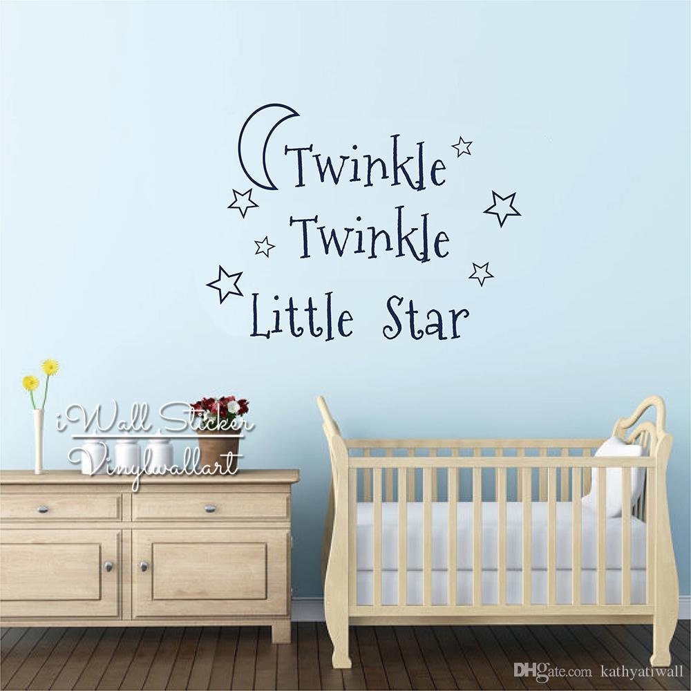 Full Size of Wandtatoo Twinkle Little Star Zitat Wandtattoo Regal Sofa Küche Regale Weiß Kinderzimmer Wandtatoo Kinderzimmer