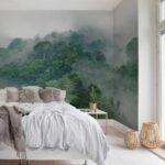 Schlafzimmer Tapete Tapeten Graues Bett Grau 3d Modern Braun Trends 2018 Wohnzimmer Inspirierend 40 Tolle Von Romantische Landhausstil Sessel Truhe Teppich Wohnzimmer Schlafzimmer Tapete