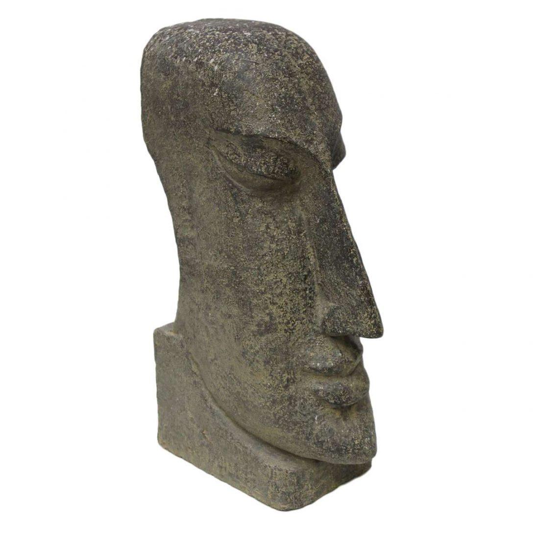Large Size of Osterinsel Moai Figur Skulptur Stein Lavasand Bali Tiki Garten Liegestuhl Trennwand Bewässerungssysteme Gartenüberdachung Relaxsessel Whirlpool Spaten Wohnzimmer Skulptur Garten