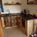 Kchenmbel Aus Aufbereiteten Europaletten Sitzbank Küche Mit Lehne Landhausstil Wasserhahn Für Ikea Miniküche L Form Niederdruck Armatur Eckunterschrank Wohnzimmer Paletten Küche