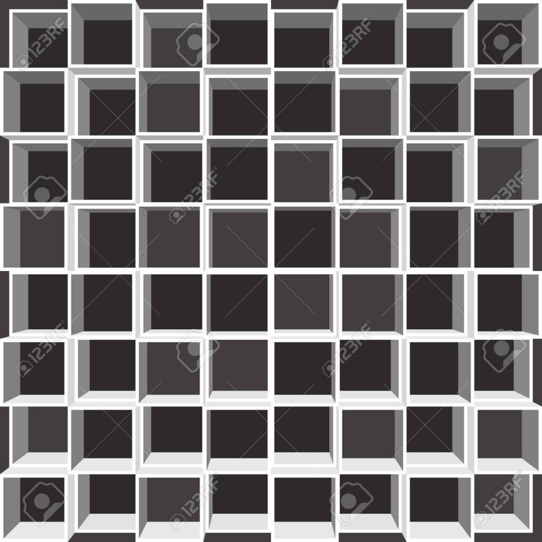 Large Size of Fächer Regal Mit Quadratischen Fchern Wei Auf Schwarzem Schulte Regale Paletten Kolonialstil Günstig Weiße Dvd Flexa Tisch Kombination Cd Buche Holzregal Regal Fächer Regal