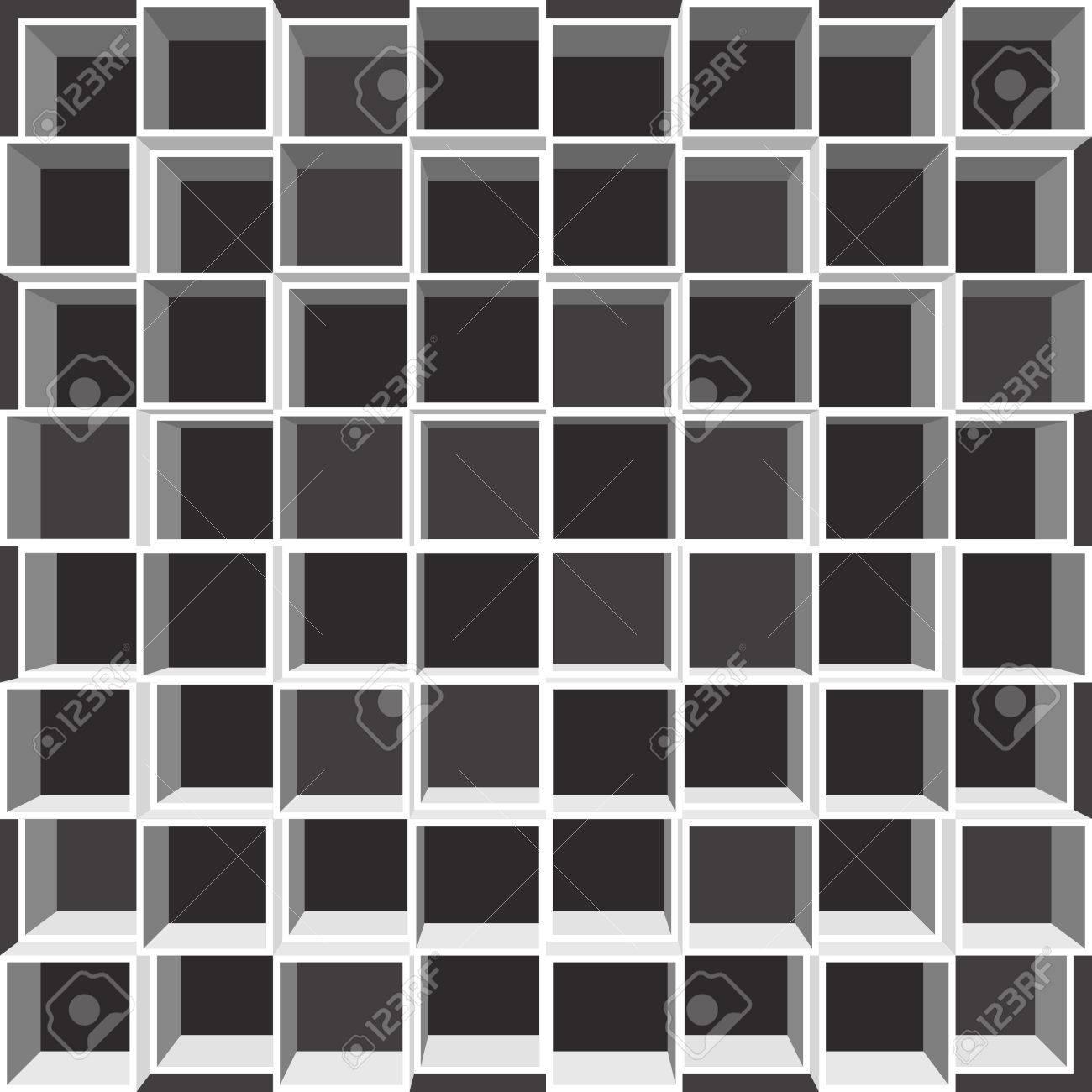 Full Size of Fächer Regal Mit Quadratischen Fchern Wei Auf Schwarzem Schulte Regale Paletten Kolonialstil Günstig Weiße Dvd Flexa Tisch Kombination Cd Buche Holzregal Regal Fächer Regal