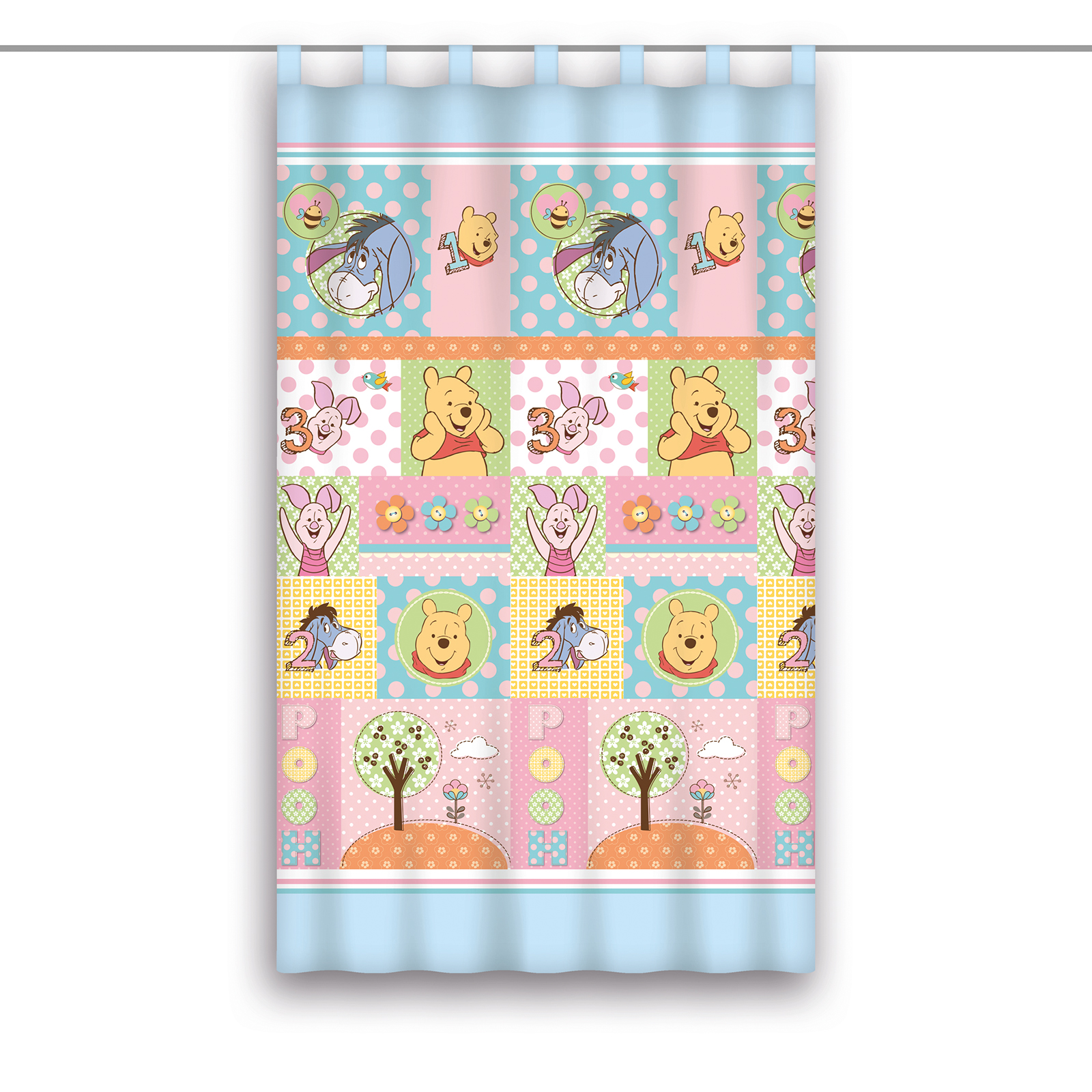 Full Size of Schlaufenschal Kinderzimmer Winnie Pooh Blau Bunt 140x160 Cm Online Bei Regal Weiß Regale Sofa Kinderzimmer Schlaufenschal Kinderzimmer