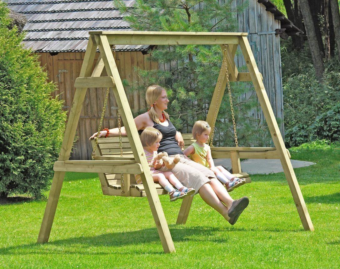 Large Size of Gartenschaukel Erwachsene Hollywoodschaukel Holz 190x164x198 Cm Bei Wohnzimmer Gartenschaukel Erwachsene