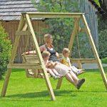 Gartenschaukel Erwachsene Wohnzimmer Gartenschaukel Erwachsene Hollywoodschaukel Holz 190x164x198 Cm Bei