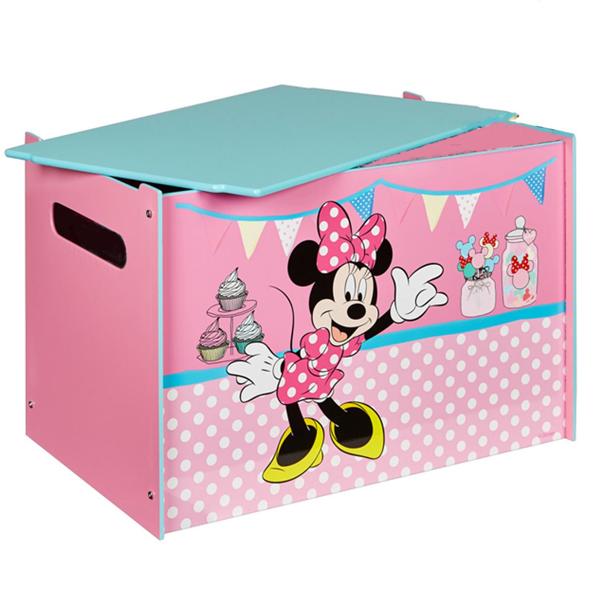Full Size of Aufbewahrungsbox Mit Deckel Kinderzimmer Aldi Disney Minnie Mouse Toy Bomdf Spielzeugkiste Bett 160x200 Lattenrost Und Matratze Bettkasten 90x200 180x200 Kinderzimmer Aufbewahrungsbox Mit Deckel Kinderzimmer