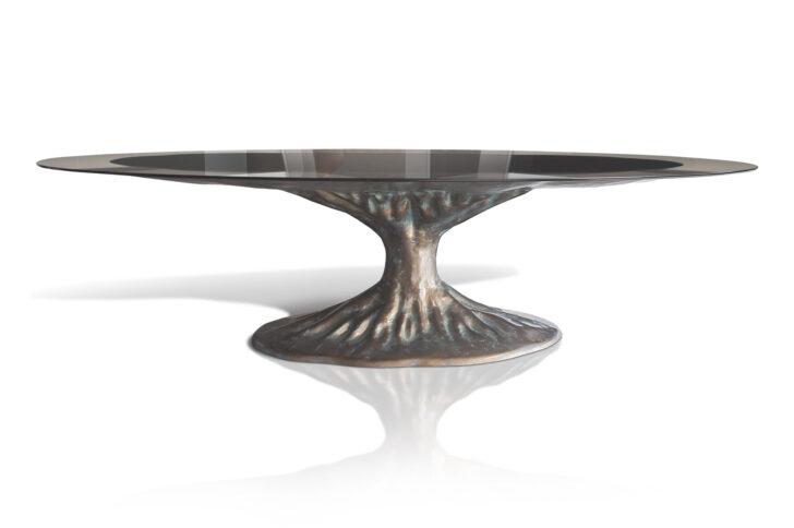 Medium Size of Esstisch Glas Bonsai Etisch Desaive Design 80x80 Altholz Nussbaum Hängeschrank Küche Glastüren Shabby Kleine Esstische Weiß Oval Grau Ausziehbar Massiv Esstische Esstisch Glas
