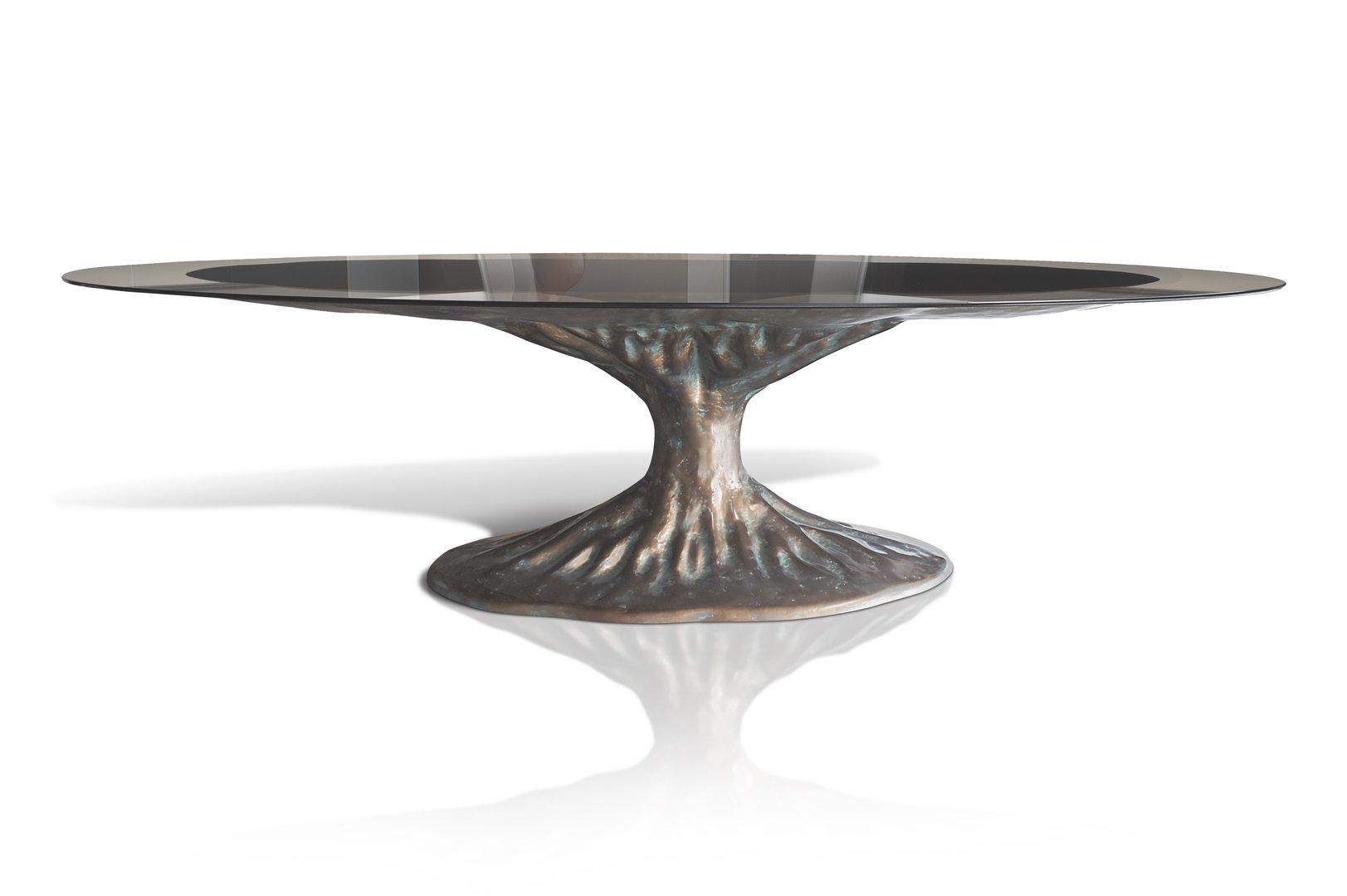 Full Size of Esstisch Glas Bonsai Etisch Desaive Design 80x80 Altholz Nussbaum Hängeschrank Küche Glastüren Shabby Kleine Esstische Weiß Oval Grau Ausziehbar Massiv Esstische Esstisch Glas