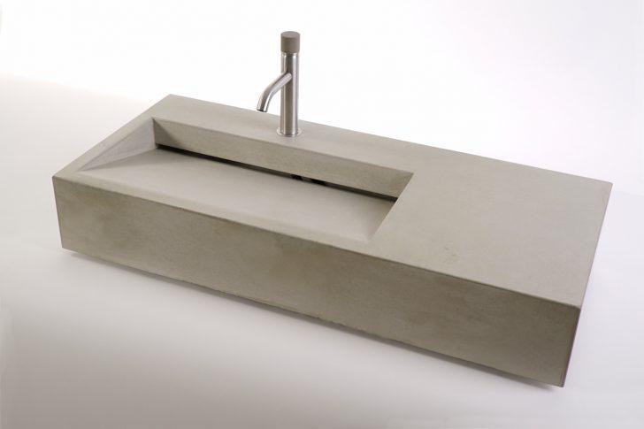 Medium Size of Outdoor Waschbecken Beton Cuneo 90 Dade Design Bad Badezimmer Keramik Küche Edelstahl Kaufen Wohnzimmer Outdoor Waschbecken