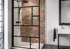 Glasabtrennung Dusche