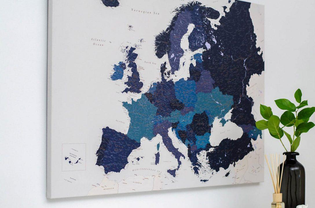 Large Size of Pinnwand Modern Europa Karte Marineblau Detailliert Modernes Sofa Moderne Landhausküche Bett 180x200 Duschen Deckenleuchte Schlafzimmer Küche Weiss Holz Wohnzimmer Pinnwand Modern