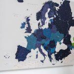 Pinnwand Modern Europa Karte Marineblau Detailliert Modernes Sofa Moderne Landhausküche Bett 180x200 Duschen Deckenleuchte Schlafzimmer Küche Weiss Holz Wohnzimmer Pinnwand Modern
