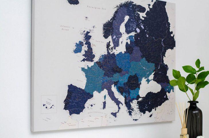 Medium Size of Pinnwand Modern Europa Karte Marineblau Detailliert Modernes Sofa Moderne Landhausküche Bett 180x200 Duschen Deckenleuchte Schlafzimmer Küche Weiss Holz Wohnzimmer Pinnwand Modern