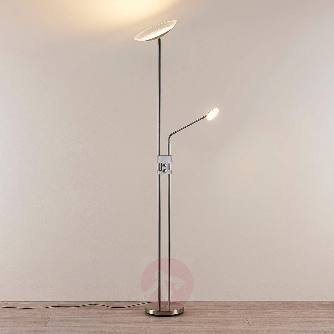 Large Size of Stehlampe Dimmbar Led Deckenfluter Jonne Mit Lesearm Stehlampen Wohnzimmer Schlafzimmer Wohnzimmer Stehlampe Dimmbar