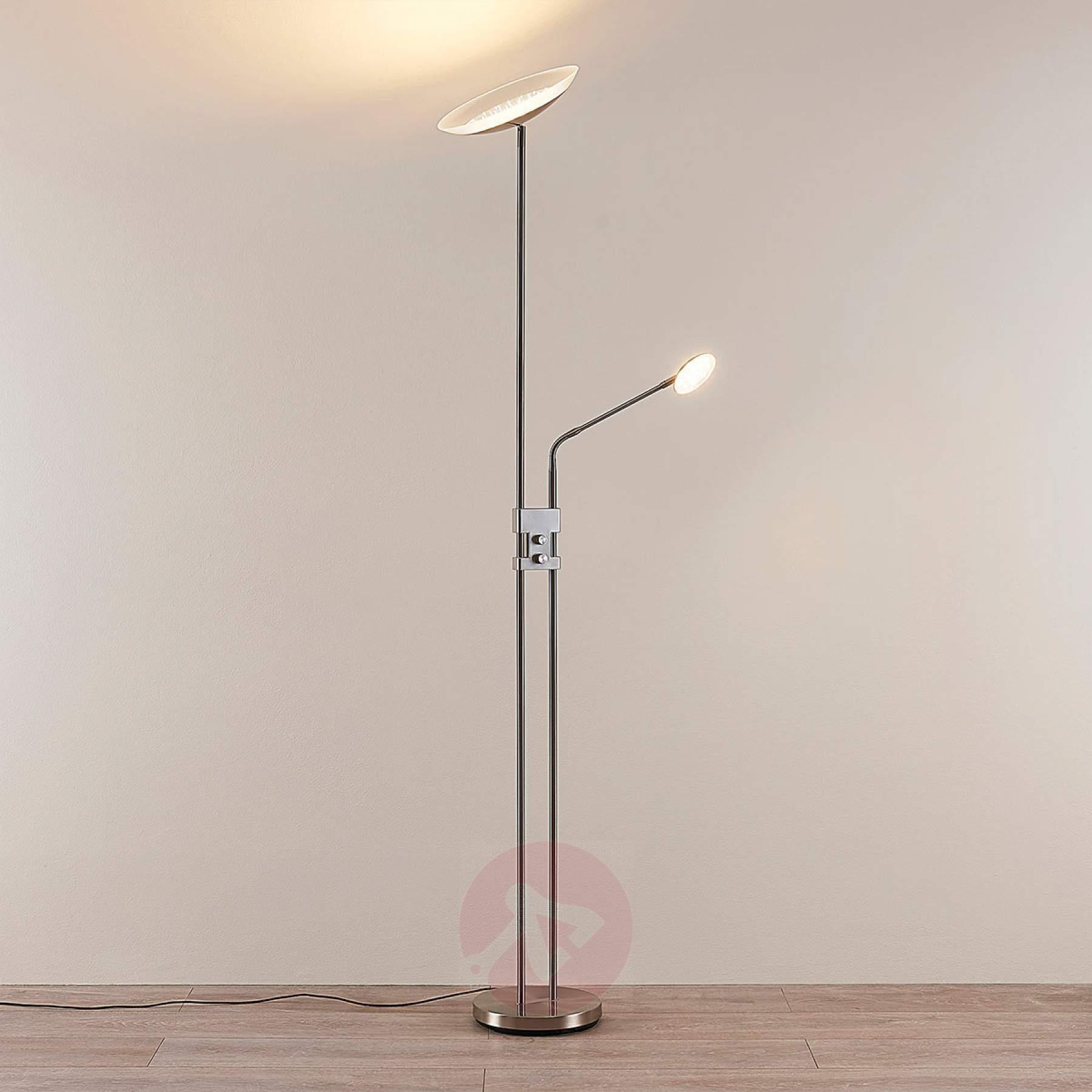 Full Size of Stehlampe Dimmbar Led Deckenfluter Jonne Mit Lesearm Stehlampen Wohnzimmer Schlafzimmer Wohnzimmer Stehlampe Dimmbar