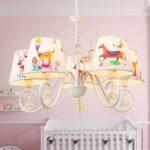 Kronleuchter Kinderzimmer Kinderzimmer Oovov Cartoon Kristall Kronleuchter Regal Weiß Sofa Regale Schlafzimmer