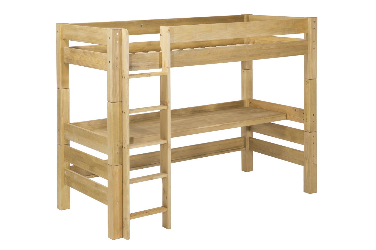 Full Size of Kinderzimmer Hochbett Mit Schreibtisch Von Moby Gnstig Bestellen Regal Regale Sofa Weiß Kinderzimmer Kinderzimmer Hochbett