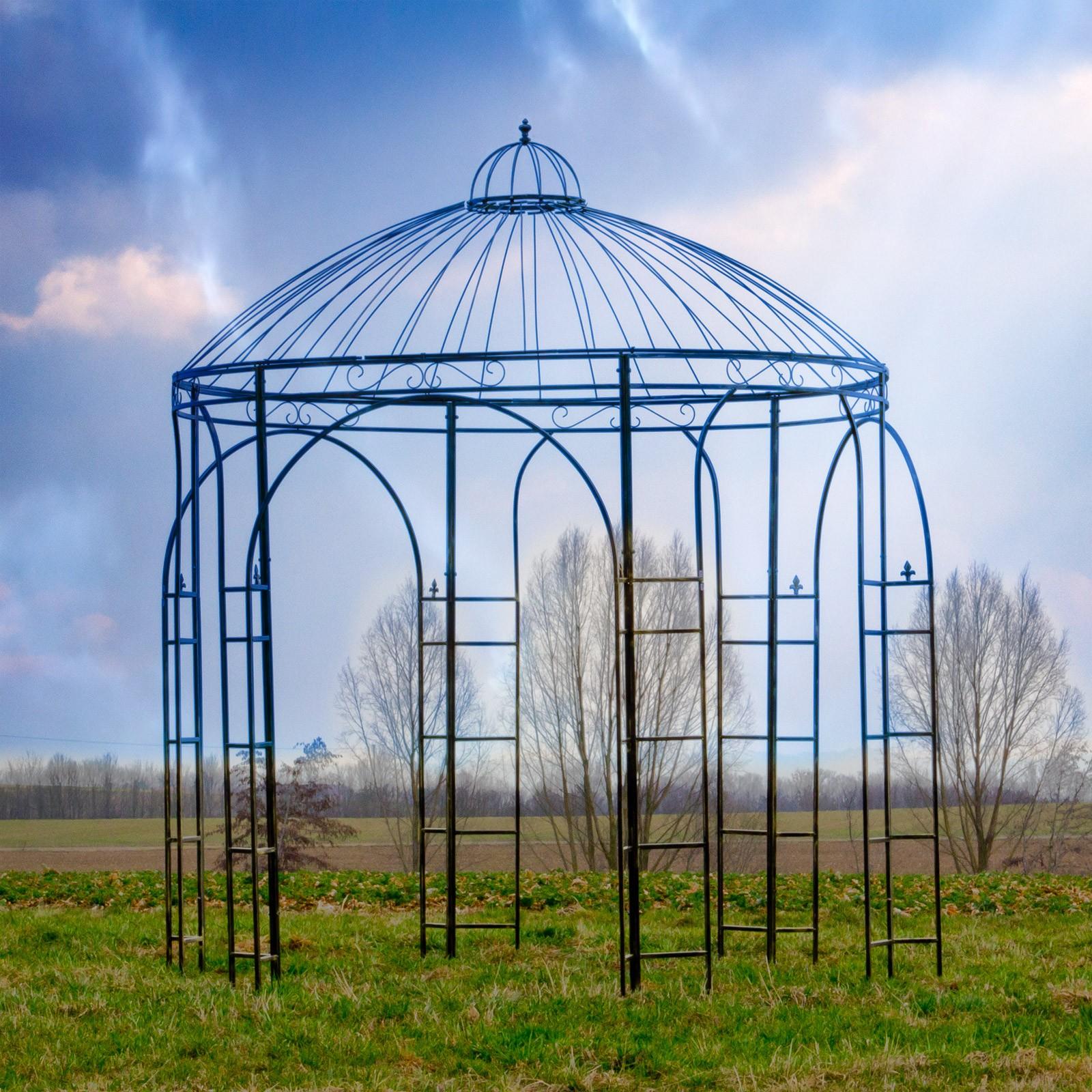 Full Size of Gartenpavillon Metall Garten Pavillon Exclusiv Deko Regale Regal Weiß Bett Wohnzimmer Gartenpavillon Metall
