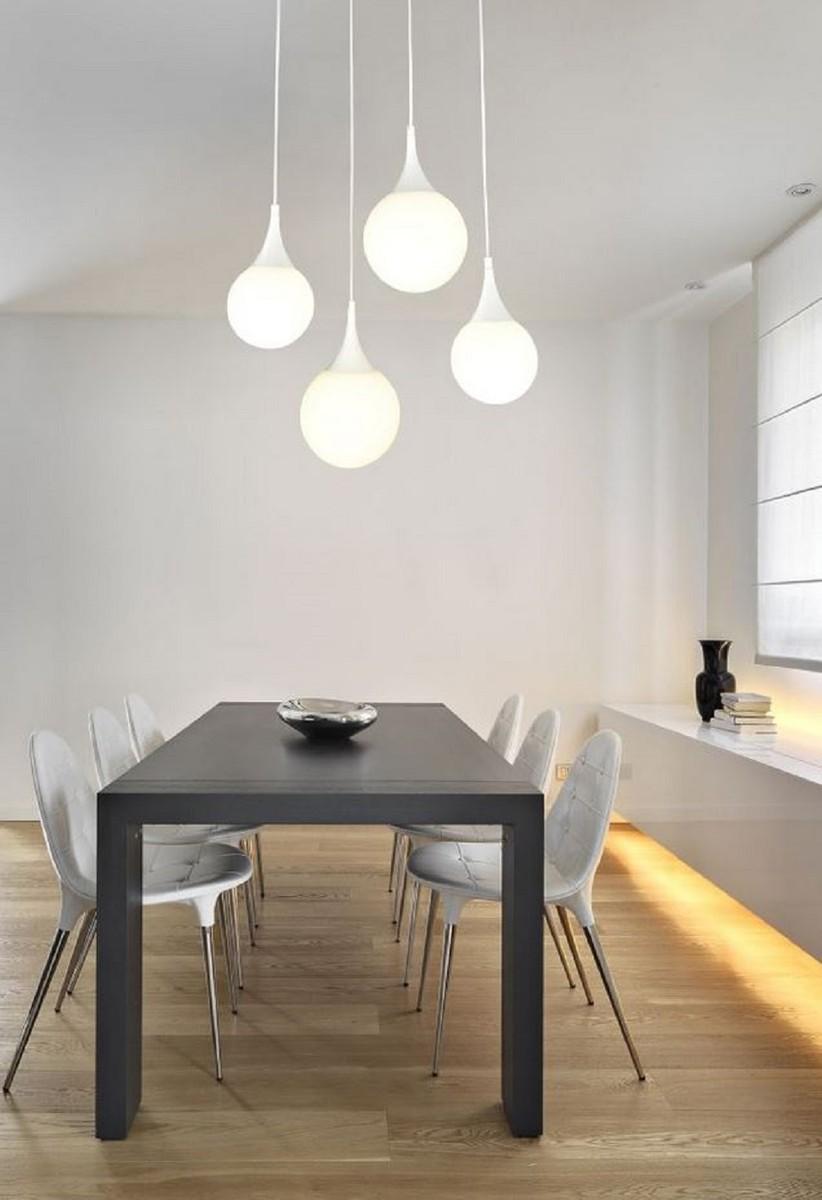 Full Size of Casa Padrino Led Hngeleuchte Silber Wei 52 Lampen Wohnzimmer Teppich Vorhänge Liege Vorhang Deckenlampen Für Stehlampen Wandbilder Decke Komplett Deckenlampe Wohnzimmer Wohnzimmer Hängelampe