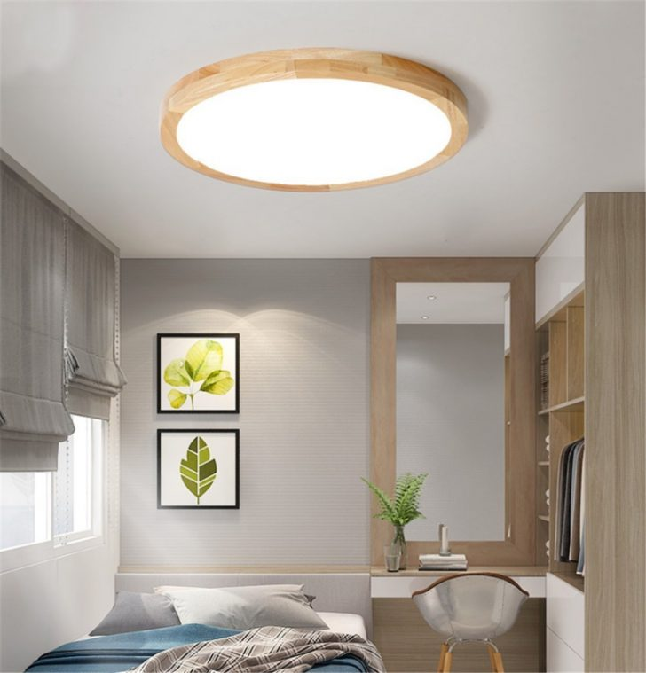 Medium Size of Sjun Deckenleuchte Holz Lampe Rund Holzlampe Dimmbar Mit Deckenlampe Bad Moderne Wohnzimmer Deckenleuchten Schlafzimmer Led Decke Küche Badezimmer Decken Wohnzimmer Holzlampe Decke