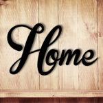 Wanddeko Dekoration Holz Holzschriftzug Schriftzug Home Zu Hause Betten Aus Garten Holzhaus Holzregal Küche Regal Schlafzimmer Komplett Massivholz Fliesen In Wohnzimmer Wanddeko Holz