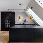 Küchen Wohnzimmer Küchen Fotogalerie Mit Schwarzen Kchen Lassen Sie Sich Inspirieren Regal