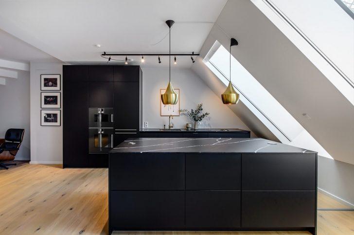 Medium Size of Küchen Fotogalerie Mit Schwarzen Kchen Lassen Sie Sich Inspirieren Regal Wohnzimmer Küchen