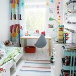 Kinderzimmer Jungen Kinderzimmer Kindergardinen Mit Lustigen Mustern Beleben Das Kinderzimmer Regale Sofa Regal Weiß