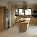 Holzküchen Wohnzimmer Holzküchen Moderne Holzkche In L Form