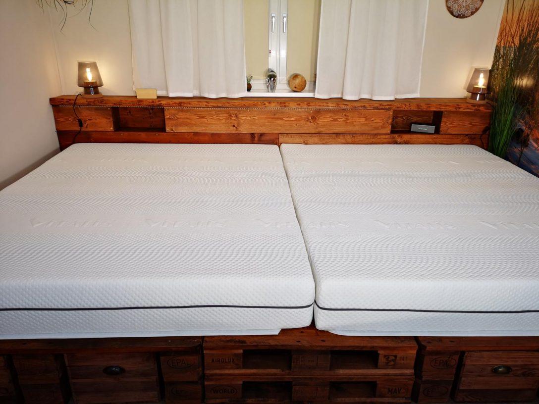 Large Size of Palettenbett Selber Bauen Kaufen Europaletten Betten Kopfteil Bett Einbauküche Machen Neue Fenster Einbauen Bodengleiche Dusche Nachträglich Küche Planen Wohnzimmer Palettenbett Selber Bauen