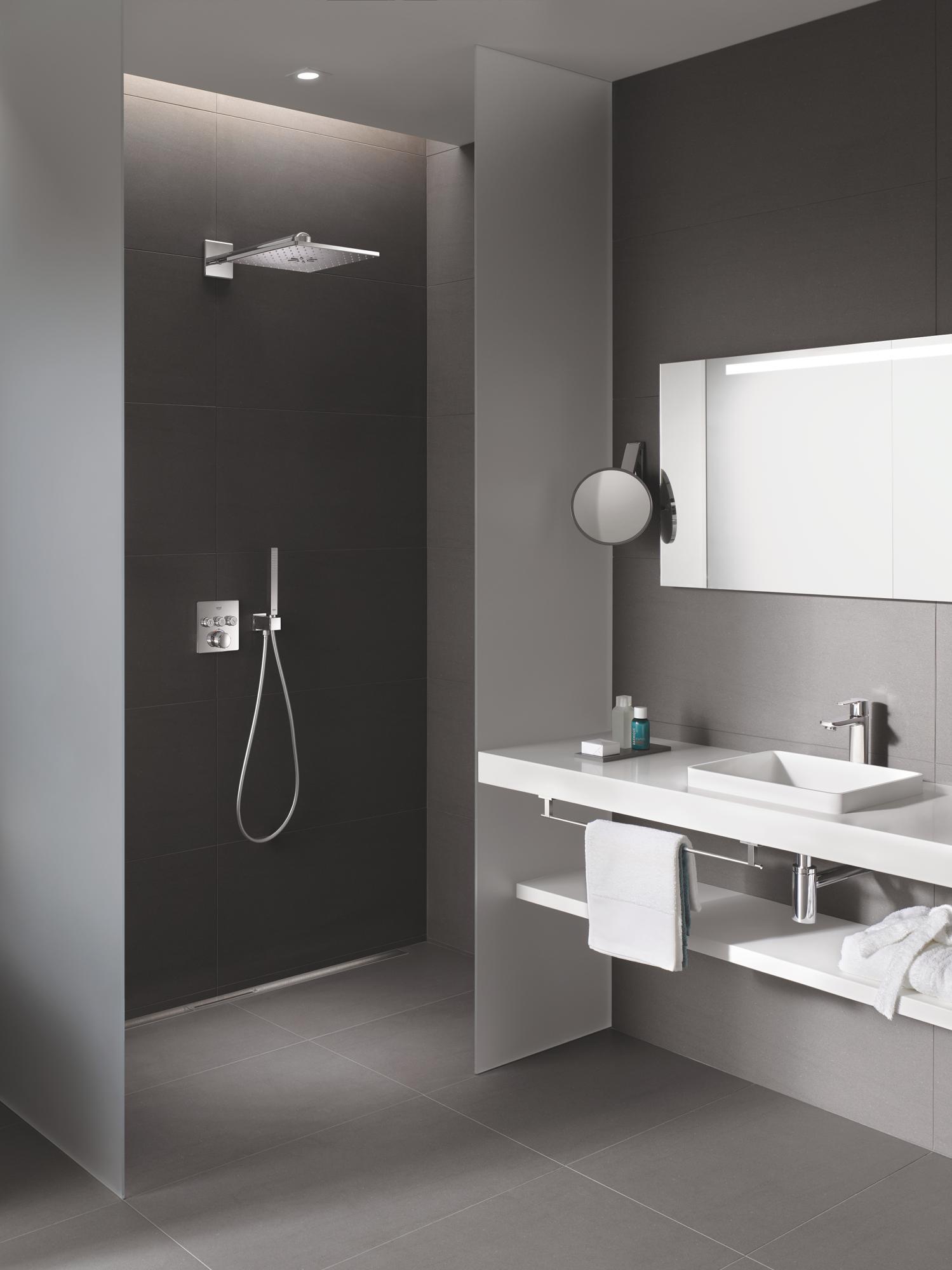 Full Size of Grohe Smartcontrol Duschsystem Unterputz Mit Rainshower 310 Walk In Dusche Badewanne Duschen Kaufen Bidet Armatur Bodengleiche Schulte Werksverkauf Glastür Dusche Rainshower Dusche