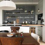 Küchentheke Wohnzimmer Küchentheke Kchentheke Design Kche Mit Tresen Ikea Planen Theke Wand Ohne