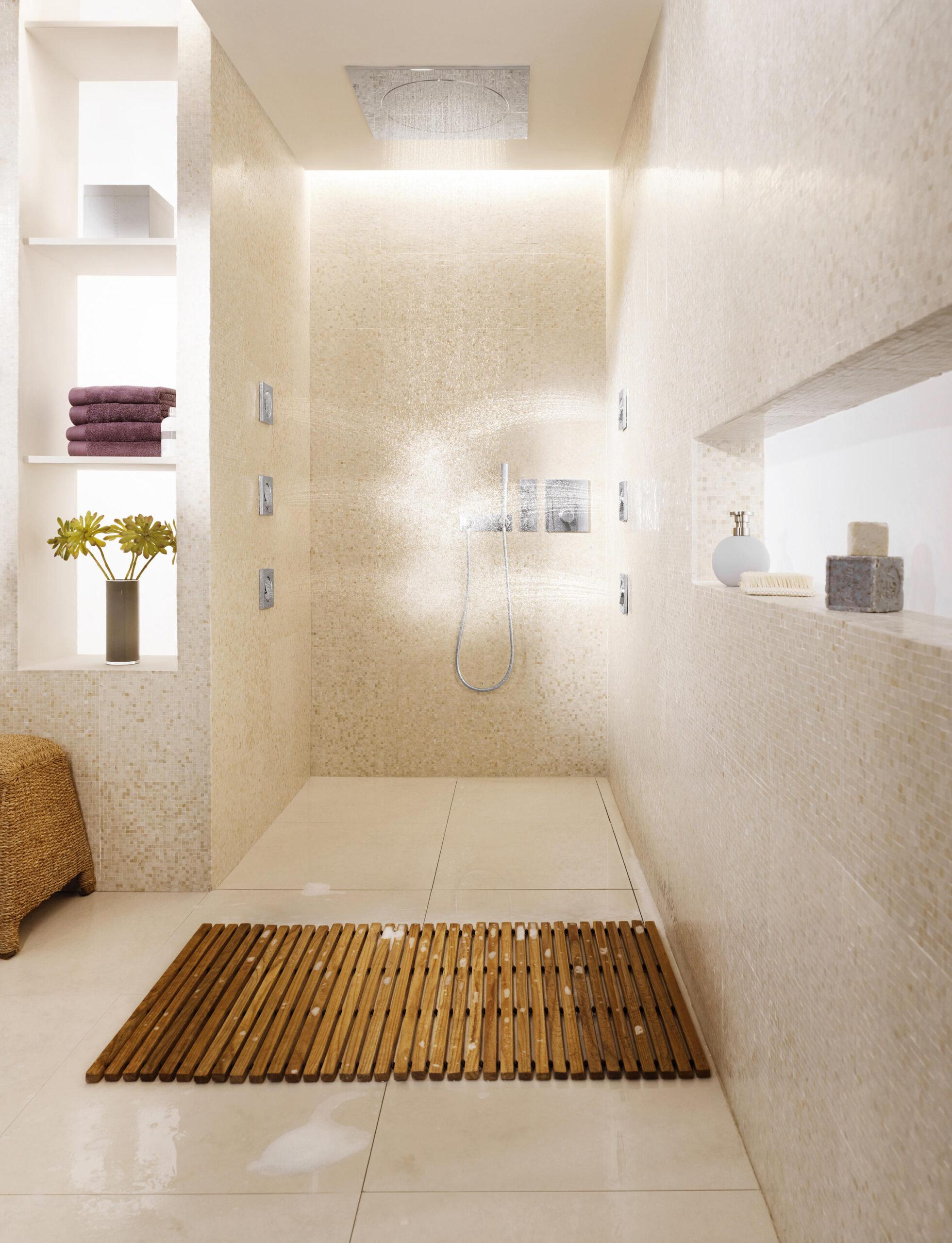 Full Size of Begehbare Dusche Ohne Tür Abfluss Bodengleiche Einbauen Einhebelmischer Ebenerdige Hsk Duschen Mischbatterie Nachträglich Schulte Badewanne Mit Breuer Dusche Rainshower Dusche