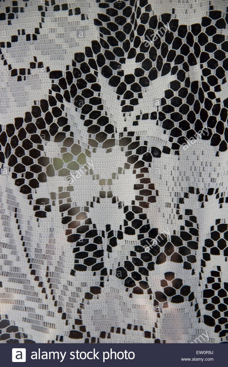 Medium Size of Gardine Häkeln Close Up Crochet Curtains Stockfotos Gardinen Für Die Küche Wohnzimmer Schlafzimmer Fenster Scheibengardinen Wohnzimmer Gardine Häkeln
