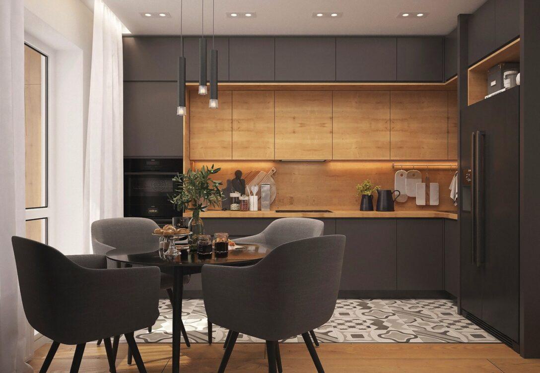 Large Size of Küchenwand 13 Alternativen Zum Fliesenspiegel Kchen Journal Wohnzimmer Küchenwand